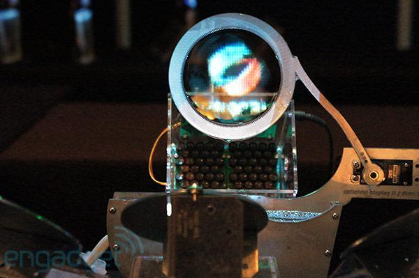 Colloidal Display uses soap bubbles, ultrasonic waves to form a projection screen (hands-on video)