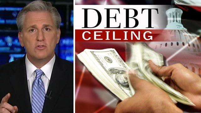 Where does the GOP stand on the debt limit?