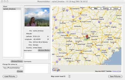 PhotoInfoEditor: Geocode Your Photos