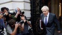 UK PM Johnson says soaring COVID-19 cases in line with forecasts