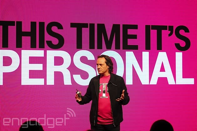 T-Mobile keeps outgrowing its rivals with 2.3 million new customers