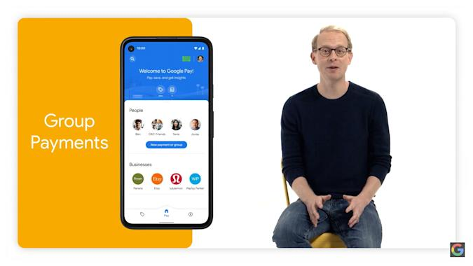Google Pay 2020 redesign