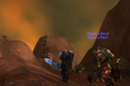 Around Azeroth: A death knight is never alone