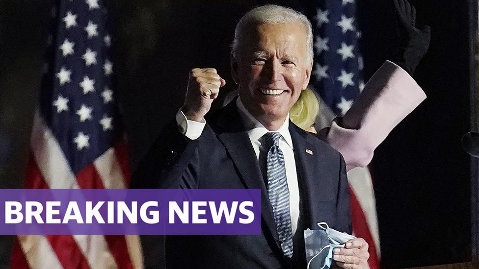 US Election: Joe Biden defeats Donald Trump to become 46th president