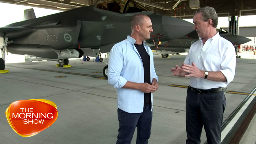 Exclusive: Australia's new fighter jets