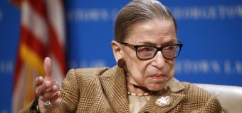 Amid the outpouring for Ginsburg, a hint of backlash