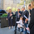 Jenna Bush Hager presents her grandfather's handicap-accessible car to disabled Navy vet