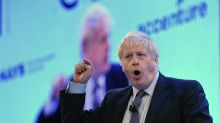 UPDATE 3-UK's Johnson drops corporate tax cut plan in bid to woo voters