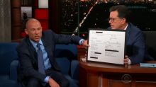 Major piece of evidence in Stormy Daniels case revealed on 'The Late Show'