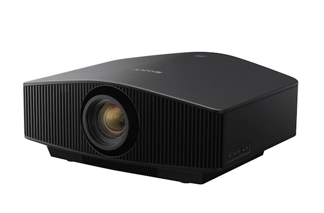 Sony's new 4K projectors are designed for gaming and sports