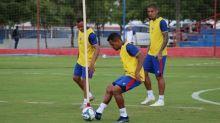 Ederson pede tranquilidade para o Fortaleza diante do Corinthians