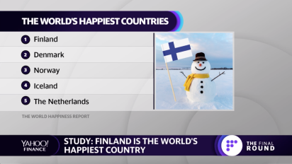 Finland is the world's happiest country