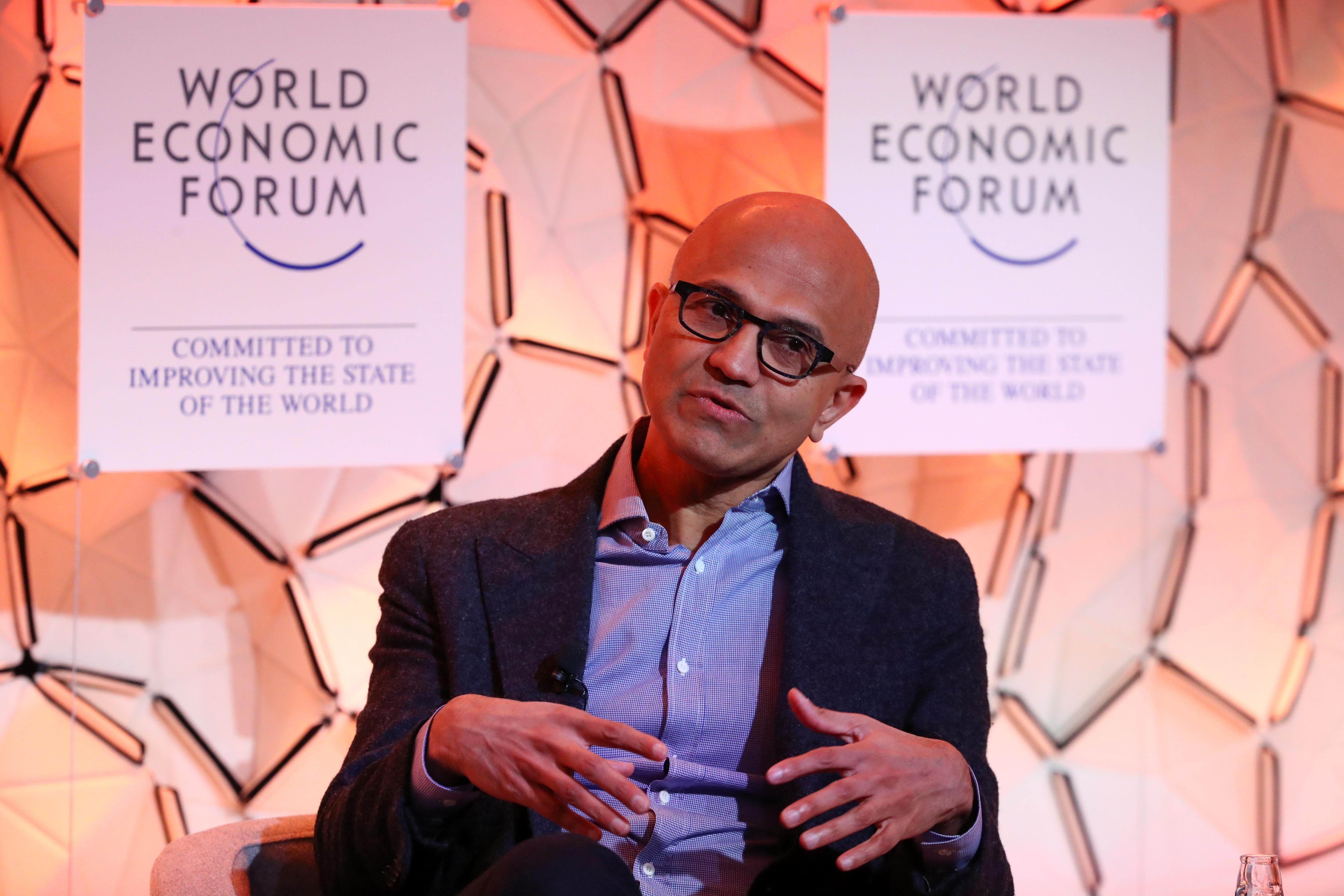 Microsoft CEO: Data privacy must be thought of as a human right