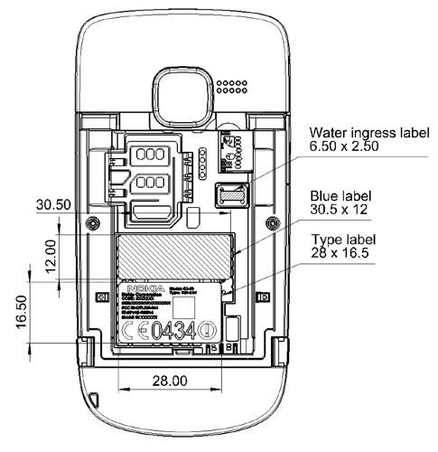 Nokia's unannounced C3 sees FCC approval