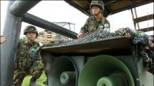 Südkorea stoppt Lautsprecher-Propaganda an der Grenze zu Nordkorea