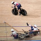 Olympics Latest: Germany takes world record in women cycling