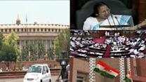 Speaker suspends 27 Cong MPs for 5 days over uproar in LS