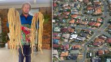 Sinister find inside Queensland family's roof