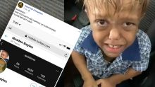 Cruel online trolls target bullied boy with dwarfism with 'fake' age claims