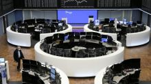 World stocks post record highs as bond yields ease