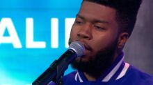 Khalid performs 'Location' live on 'GMA'