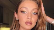 Gigi Hadid just shared a bunch of nearly naked pics on Instagram