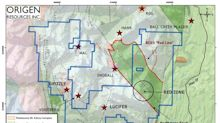 Origen Signs LOI to Acquire a 100% Interest in Highly Prospective Gold and Copper Properties in BC's Golden Triangle