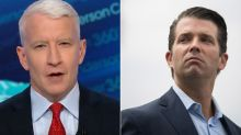 Anderson Cooper Shreds 'Idiotic' Don Jr. Over Phony Florence Photo