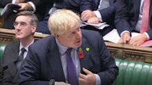 Boris Johnson compares John Bercow to 'uncontrollable tennis ball machine' in parting shot to Speaker