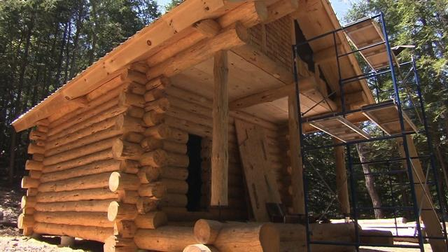 Rediscovering the art of log cabin building