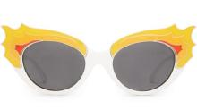 Get your fire extinguisher ready, because Crap Eyewear's Cherry Glazerr sunglasses are blazing hot