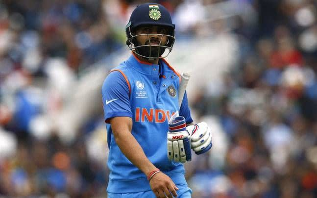 Virat Kohli could score just 3 runs