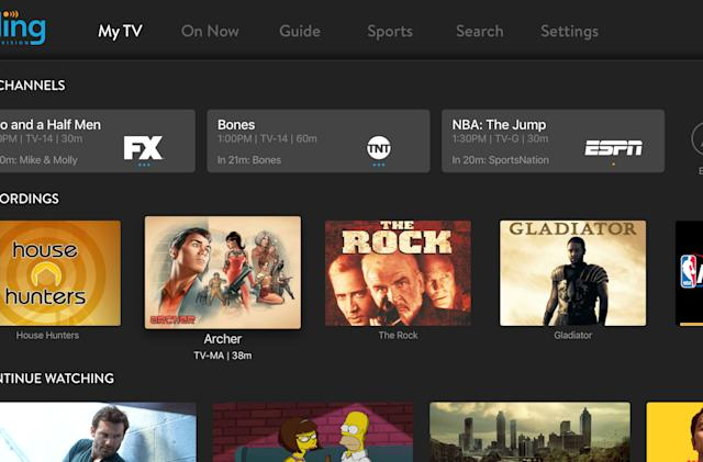 Sling TV's Cloud DVR records your guilty pleasures on Apple TV