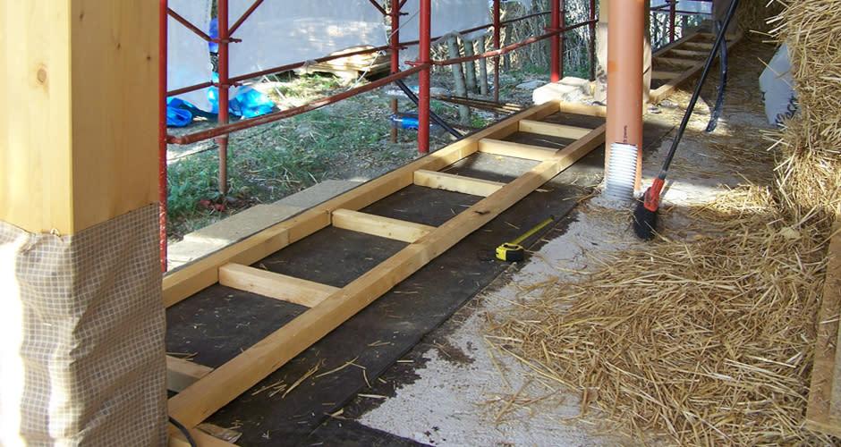 Costruire le case in paglia economico e rispettoso dell - Costruire casa paglia ...