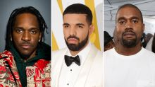 Drake-Pusha-T Feud Gets Uglier, as Kim Kardashian Goes on Twitter Rampage Defending Kanye West