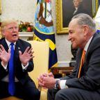 In heated on-camera clash, Trump bickers with top Democrats on border wall