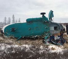 Russian helicopter crash kills 19 in Siberia