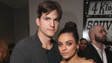 Mila Kunis and Ashton Kutcher Pose Together as a Couple for First Time Backstage at Billboard Music Awards
