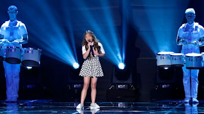 AGT's Angelica Hale Named 2-Time Golden Buzzer Winner, Reveals She's 'Nervous' to Take on Susan Boyle