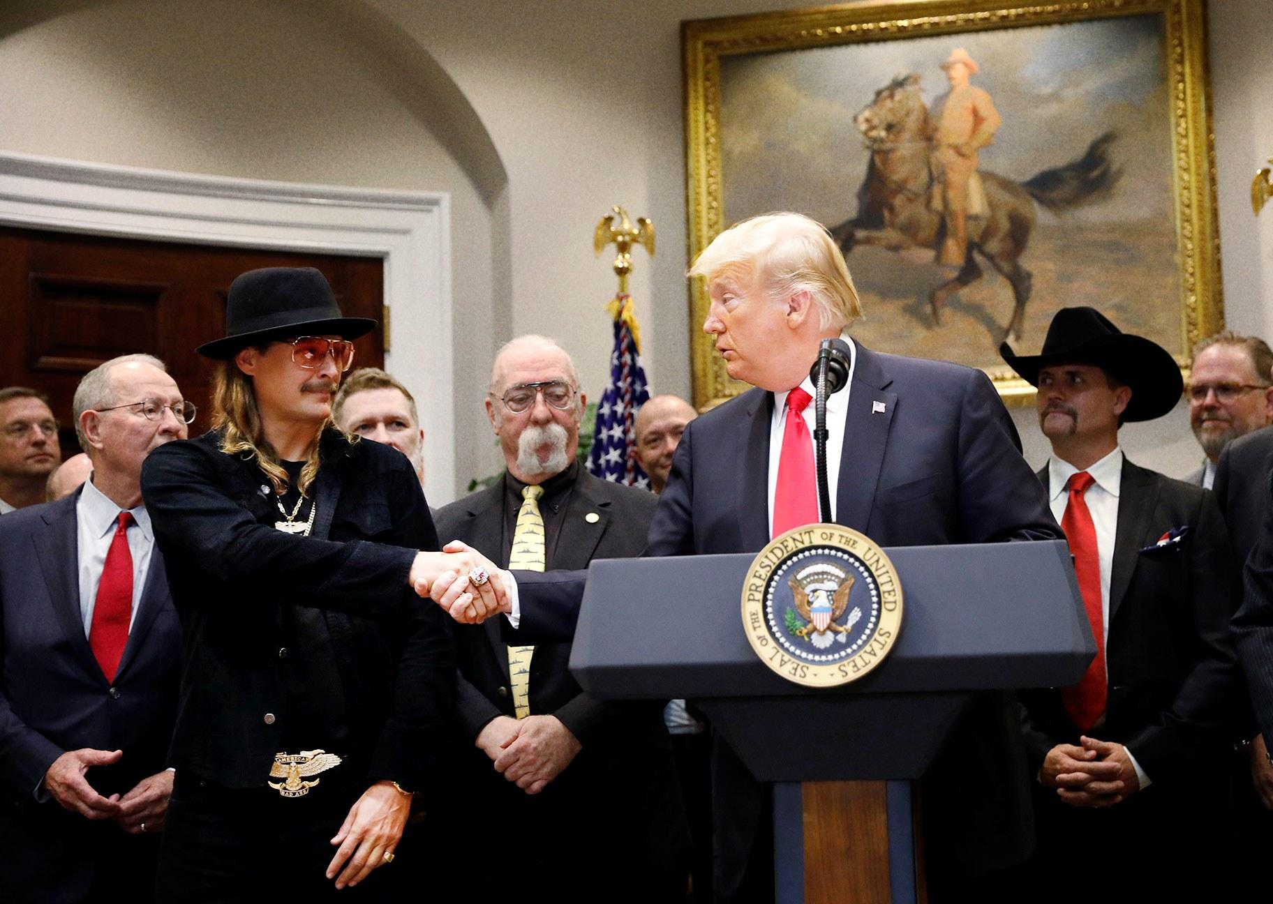 Kid Rock Visits White House to Rekindle His Relationship With Authority