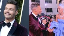 Twitter Goes After Ryan Seacrest for Wearing 'Time's Up' Bracelet at Golden Globes