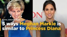 5 ways Meghan Markle is similar to Princess Diana