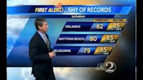 Saturday Outlook: Near Record Temps, Springlike Weather Continues