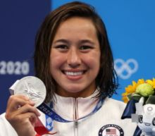 'I'm multicultural, queer, a lot of minorities': Erica Sullivan wins silver at first-ever women's 1500m freestyle