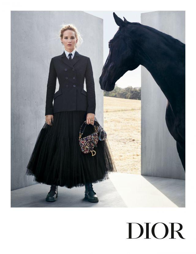Jennifer Lawrence Channels A Chic Horsewoman In The New