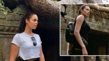 Diese Frau sieht aus wie Angelina Jolie als Lara Croft und das Internet ist fassunglos