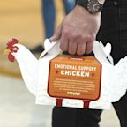 You Can Get 'Emotional Support Chicken' from Popeyes to Ease Your Holiday Travel Stress