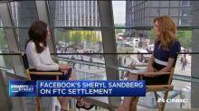 Facebook COO Sheryl Sandberg on breaking up big tech companies