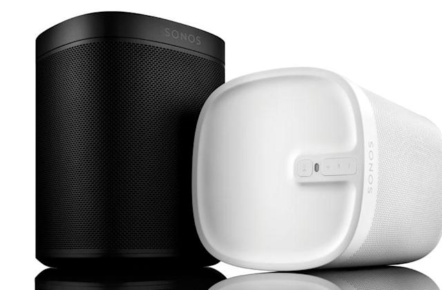 Sonos' limited-edition Play:1 has a design that's meant to blend in