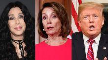 Cher asks Nancy Pelosi to end government shutdown before Trump: 'PPL WILL STARVE'